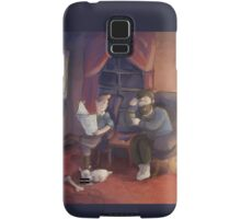 Tintin: Evening Discussion Samsung Galaxy Case/Skin