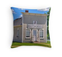 Boots & Shoes Throw Pillow
