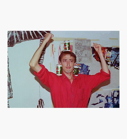John Hughes at Art Unit 1983 Photographic Print