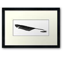 Crow Quill Pen Framed Print