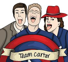 Team Carter - With Banner by haypaige