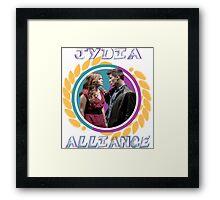 Jydia Alliance Framed Print
