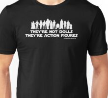 They're Not Dolls (White Ink) Unisex T-Shirt