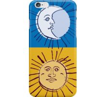 The Sun and the Moon iPhone Case/Skin