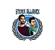 The Ultimate Sterek Alliance T-Shirt [Back] by thescudders