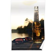 Dock Drinking Poster