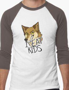 I Eat Kids Men's Baseball ¾ T-Shirt