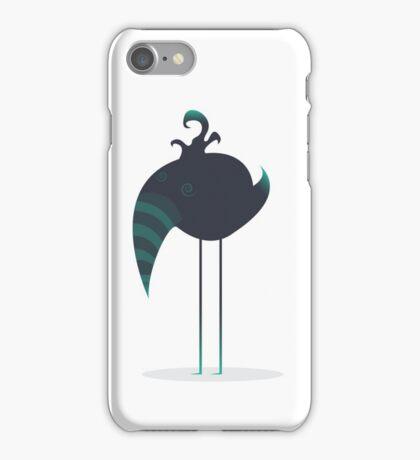 Melancholic Bird iPhone Case/Skin