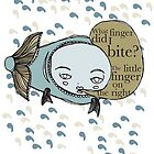 Nibble fishy, nibble by PiCCa