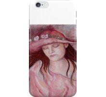 Hat Girl iPhone Case/Skin