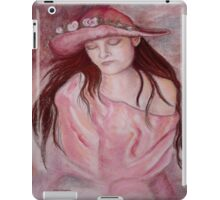 Hat Girl iPad Case/Skin