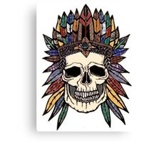 chief no-body Canvas Print