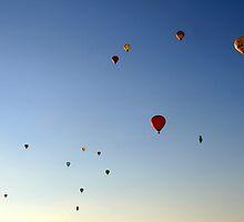 hot air ballon by Anne Seltmann