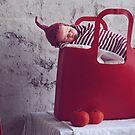 red sleeping hood by CoffeeBreak