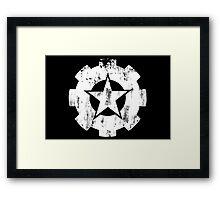 Vintage Star Framed Print
