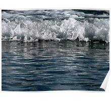 winter waves.. aldinga beach Poster