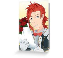 Zelos Formal Wear Greeting Card