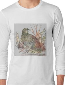 The Quail Long Sleeve T-Shirt