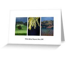 Winter Glory - Margaret River Greeting Card