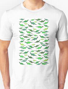 Dinosaurs (shades of green) T-Shirt
