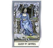 Queen of Swords, Card Poster
