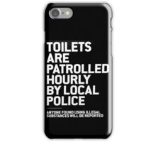 Boxpark Warnings. iPhone Case/Skin