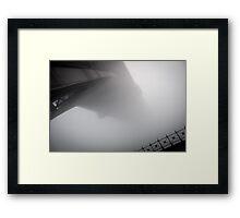 The Vanishing Bridge Framed Print