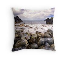 Keanae Lava Rumble Throw Pillow