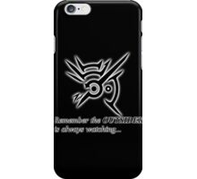The Outsider is always watching iPhone Case/Skin