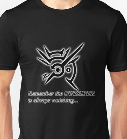 The Outsider is always watching Unisex T-Shirt