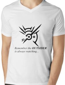 The Outsider is always watching Mens V-Neck T-Shirt