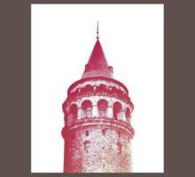 Galata Tower Baby Tee