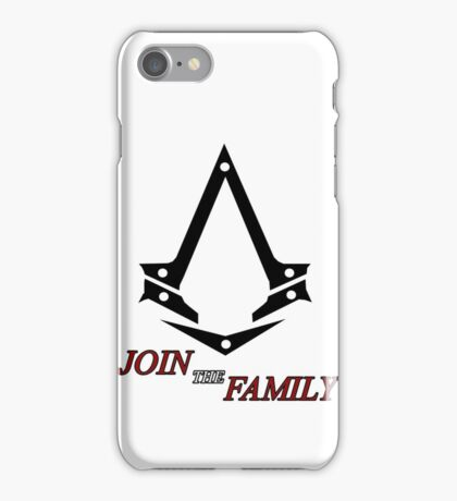 Join The Family iPhone Case/Skin