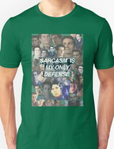 Sarcasm Is My Only Defense T-Shirt