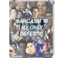 Sarcasm Is My Only Defense iPad Case/Skin