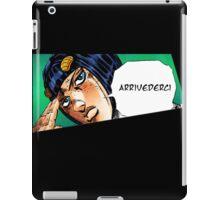 Arrivederci Bruno iPad Case/Skin
