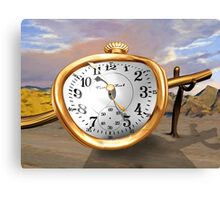 Melting Surreal Watch Canvas Print