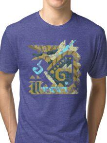 Monster Hunter - Zinogre Icon Tri-blend T-Shirt