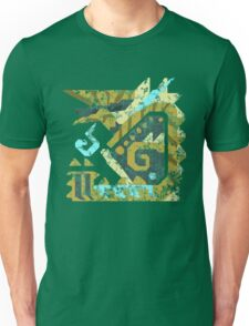 Monster Hunter - Zinogre Icon Unisex T-Shirt