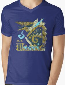Monster Hunter - Zinogre Icon Mens V-Neck T-Shirt