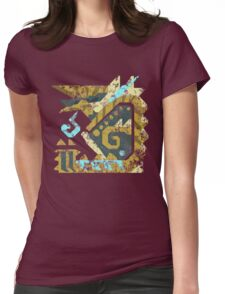 Monster Hunter - Zinogre Icon Womens Fitted T-Shirt