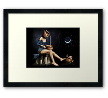 Surreal Woman Framed Print
