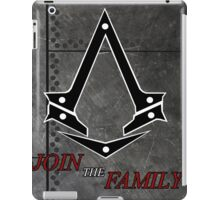 Steel Riveted AC poster iPad Case/Skin