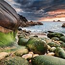 Cornwall - Porth Nanven by Michael Breitung