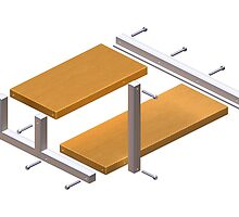 Instructions for Impossible Shelf Unit by Paul Fleet
