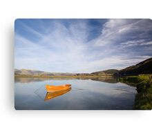 Tranquil river scene UK Canvas Print