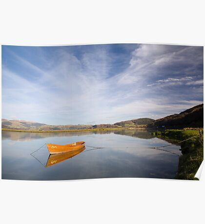 Tranquil river scene UK Poster