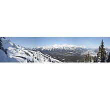 Fernie Alpine Resort, BC, Canada Photographic Print