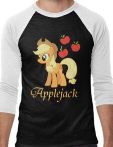 Applejack T-shirt Men's Baseball ¾ T-Shirt