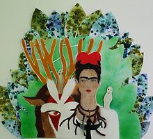 Frida and the forest's God by Koia